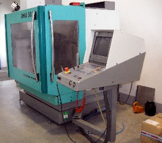 The CNC Machine Donated by the Roatary Clubs