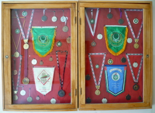 Display of Medals by George Eid Eid