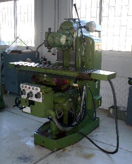 Milling Machine Donated by GTZ