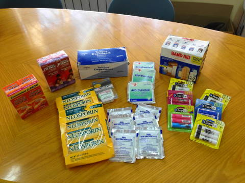 Medical Items Donated by Shalabies